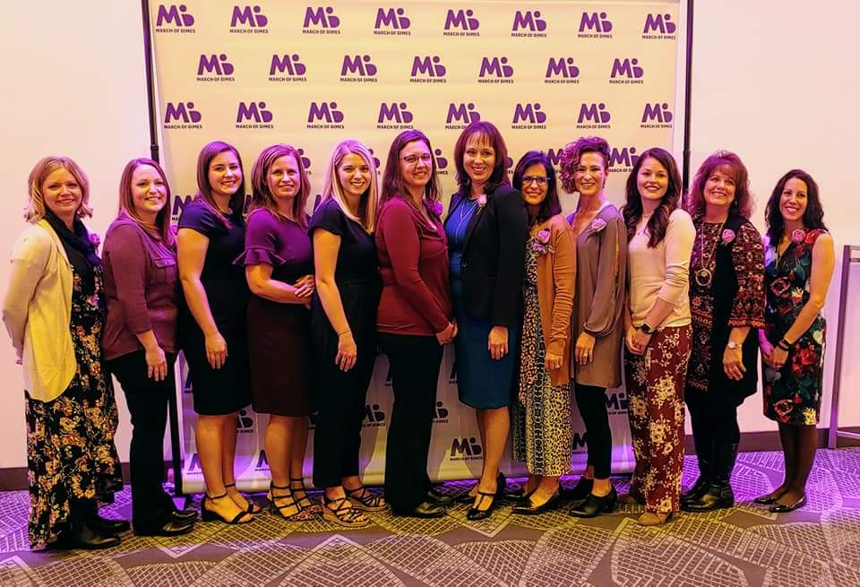 March of Dimes Nurse of the Year finalists from CentraCare.