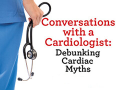 Conversations with a cardiologists flyer