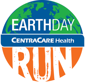 Earth Day Run logo.