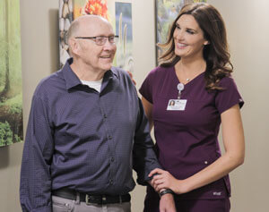 Former Mrs. Minnesota, Melissa Brenny, working at  Coborn Cancer Center