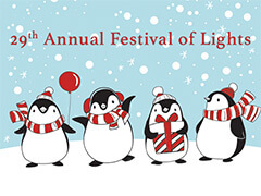 SCH festival of lights flyer