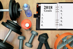 exercise equipment and 2018 calendar