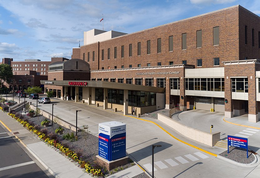 CentraCare – St. Cloud Hospital has been named one of the top hospitals in the United States by Newsweek