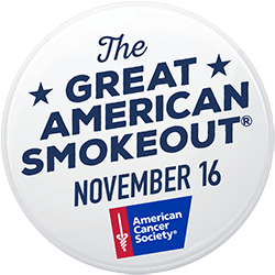 the great american smokeout november 16