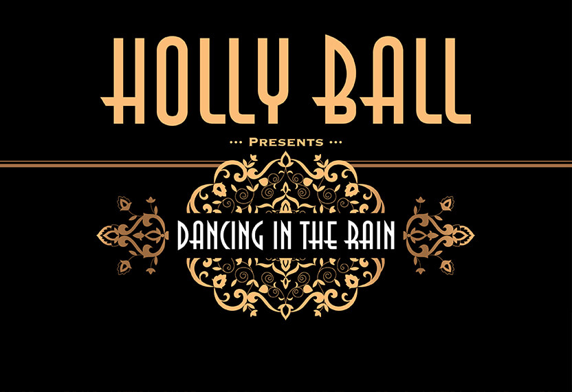Holly Ball Banner