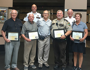 Life Saver Award for first responders